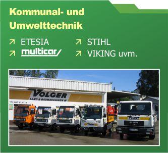 Verkauf Kommunal- und Umwelttechnik